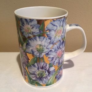 Floral Bone China Tea Cup Kendal England Dunoon